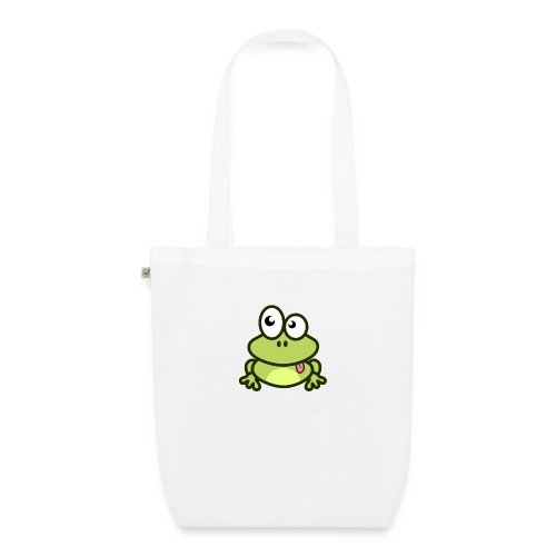 Frog Tshirt - EarthPositive Tote Bag