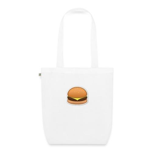 hamburger_emoji - Bio stoffen tas