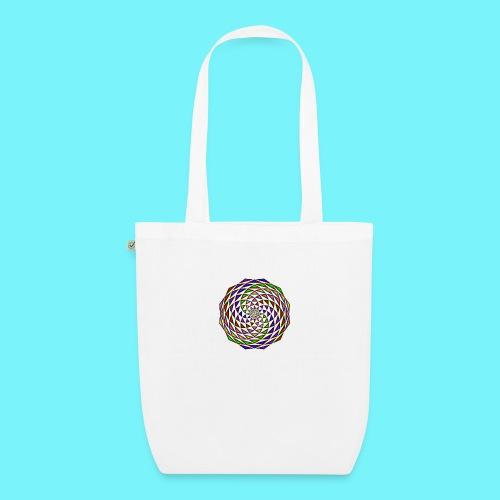 Mandala in rainbow colours - EarthPositive Tote Bag