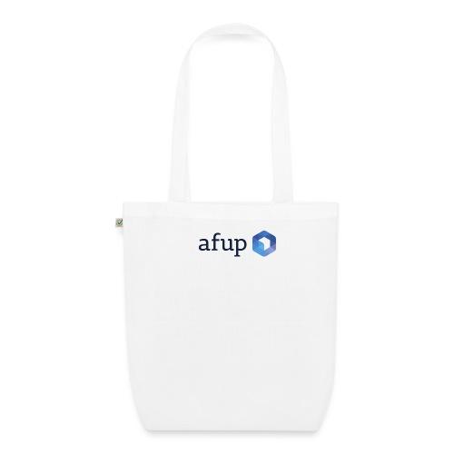 Le logo officiel de l'AFUP - Sac en tissu biologique