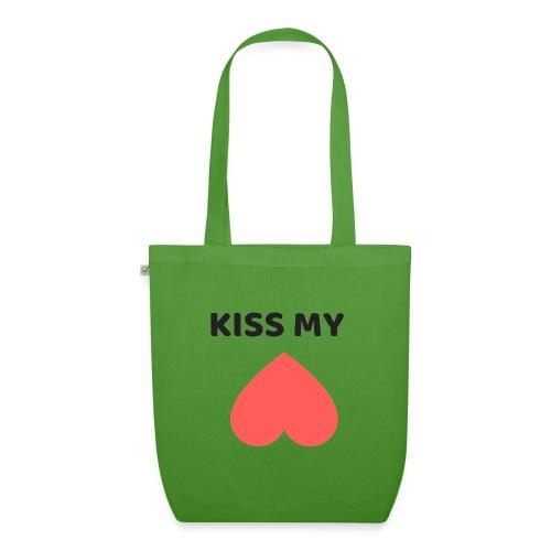 Kiss My Ass - Ekologiczna torba materiałowa