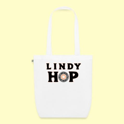 Lindy Hop Dance vintage Tanz T-shirt - Bio-Stoffbeutel