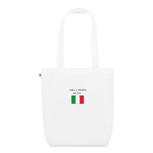 Włosko-polska - Ekologiczna torba materiałowa