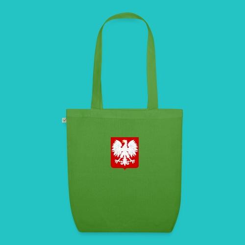Koszulka z godłem Polski - Ekologiczna torba materiałowa