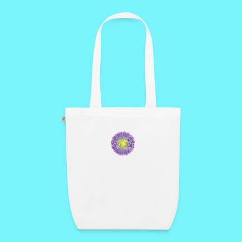 Fibonacci based image with radiating elements - EarthPositive Tote Bag