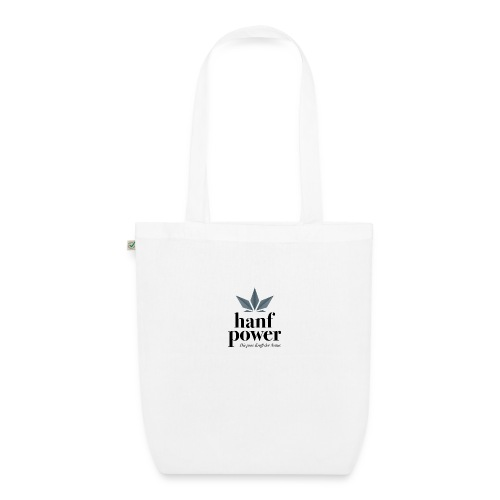 Hanf Power Logo - Bio-Stoffbeutel