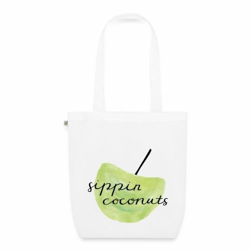 sippin' coconuts - Bio-Stoffbeutel