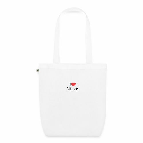 Michael designstyle i love Michael - EarthPositive Tote Bag