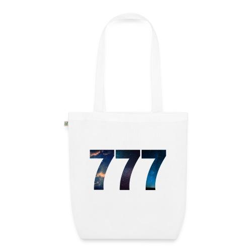 777 un nombre qui apporte chance et spiritualité - Sac en tissu biologique