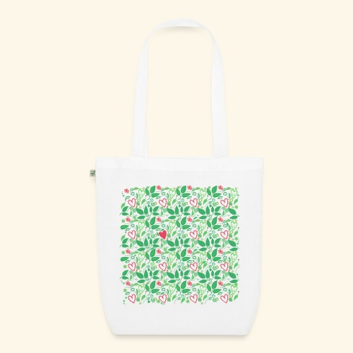 Pattern - Nature Love - EarthPositive Tote Bag