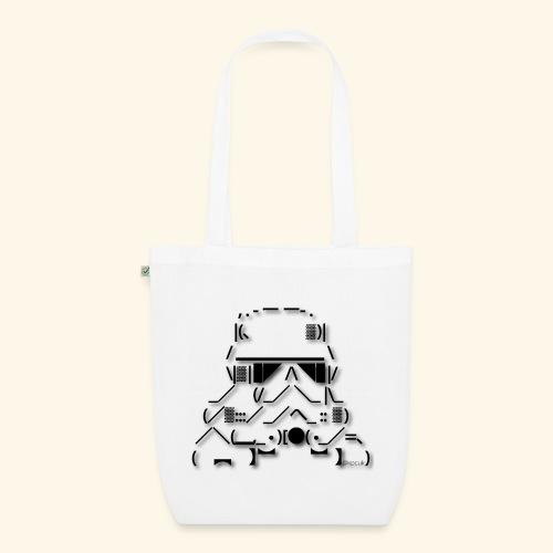 ASCII Art Stormtrooper - Text art - EarthPositive Tote Bag