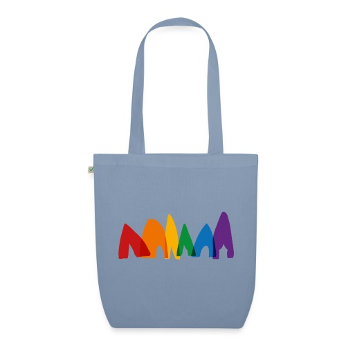 row-of-tents - EarthPositive Tote Bag