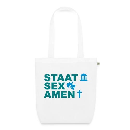 Staatsexamen / Staat Sex Amen - Bio-Stoffbeutel