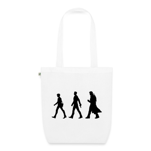 Black Title and Character design - EarthPositive Tote Bag