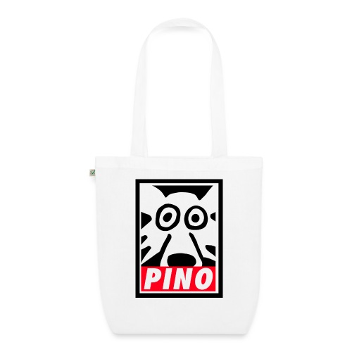 Pino Volpino OBEY style - Borsa ecologica in tessuto