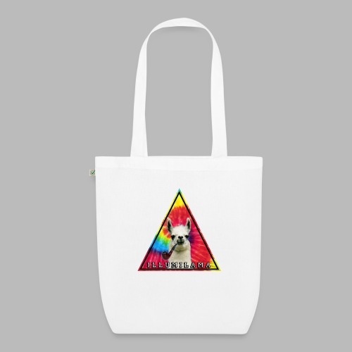 Illumilama logo T-shirt - EarthPositive Tote Bag