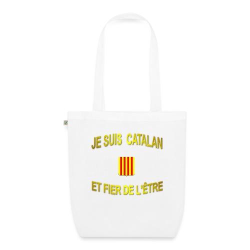 Tee-Shirt supporter du pays CATALAN - Sac en tissu biologique
