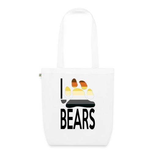 I love bears - Sac en tissu biologique