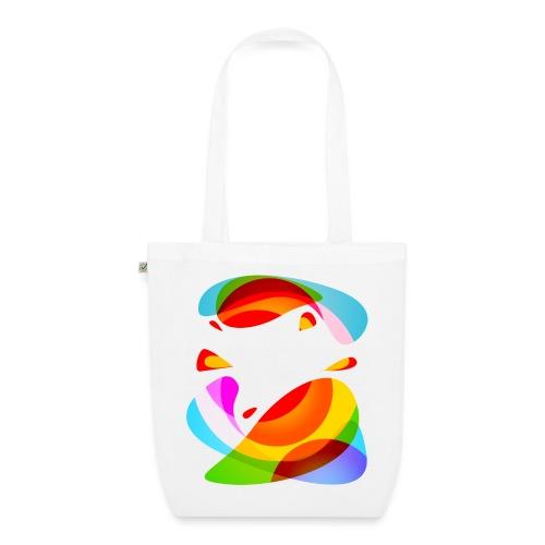 Energiczne kształty - Ekologiczna torba materiałowa