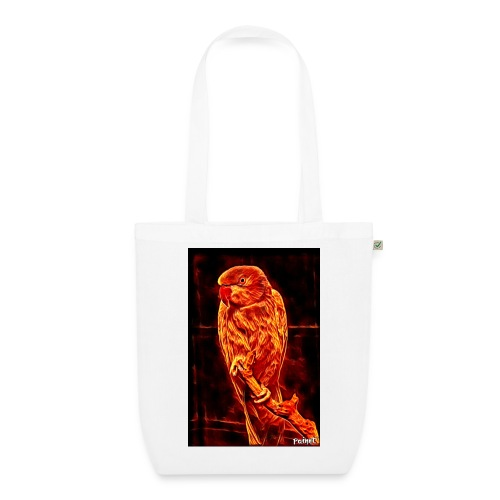 Bird in flames - Luomu-kangaskassi