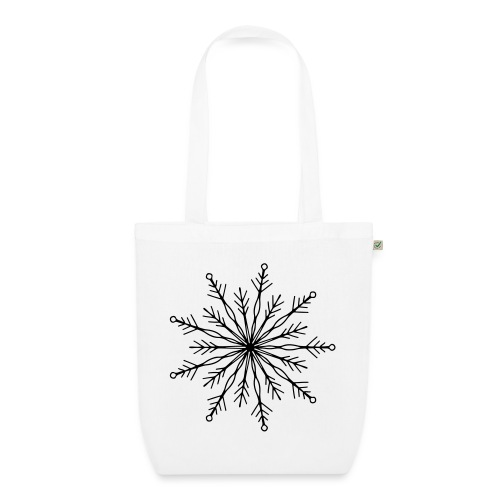 winterkind the mastermind snowflake - Bio-Stoffbeutel