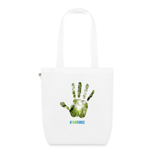 Fairforce Handprint - EarthPositive Tote Bag