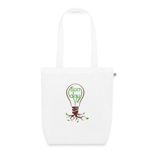 Logotyp Ecoday genomskinlig för ljus bakgrund png - Ekologisk tygväska