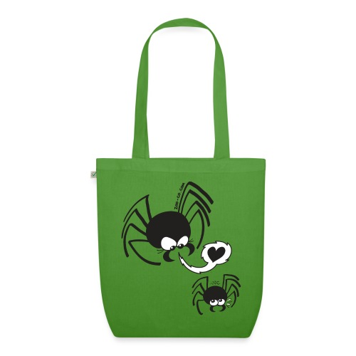 Dangerous Spider Love - EarthPositive Tote Bag