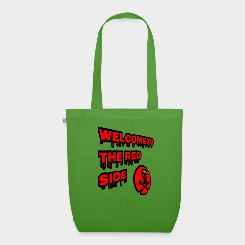 Welcome to the red side - EarthPositive Tote Bag