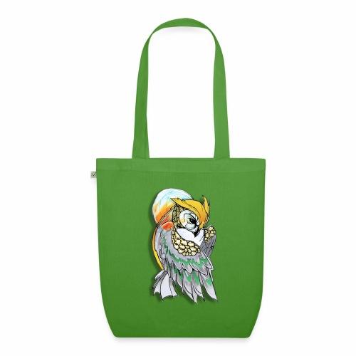 Cosmic owl - Bolsa de tela ecológica