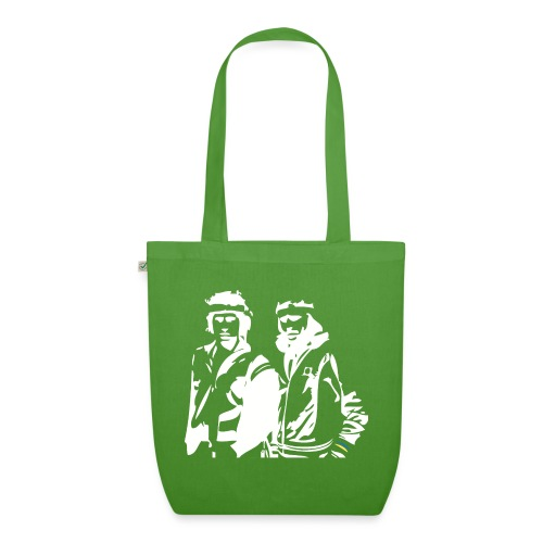 Borg McEnroe Retro Green+White - Luomu-kangaskassi