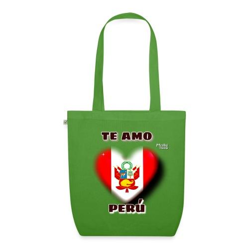 Te Amo Peru Corazon - Bio-Stoffbeutel