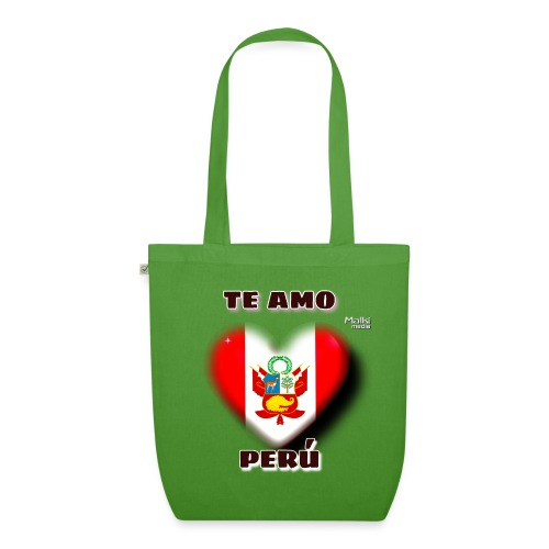 Te Amo Peru Corazon - EarthPositive Tote Bag