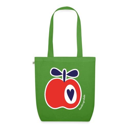 Simply Apples rot - Bio-Stoffbeutel