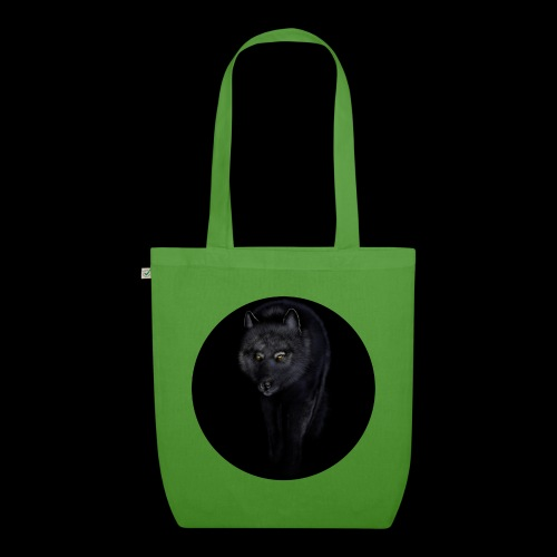 Black Wolf - EarthPositive Tote Bag