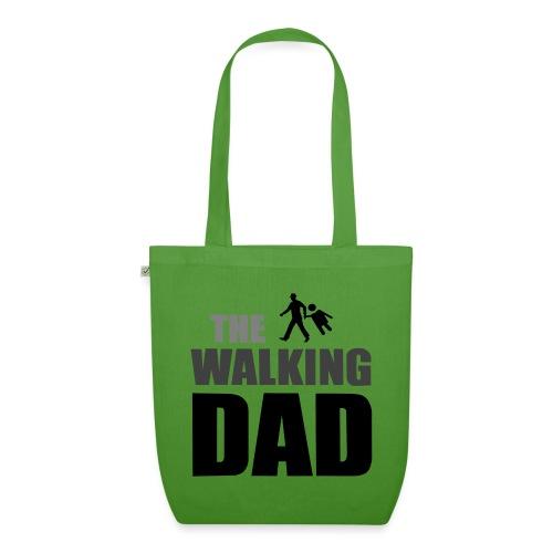 the walking dad auf dem Weg in die lustige Bar - Bio-Stoffbeutel