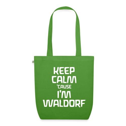 Keep Calm cause I m Waldorf - Bio-Stoffbeutel