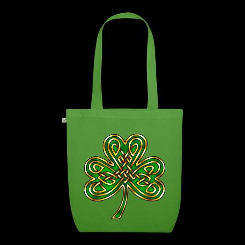 Celtic Knotwork Shamrock - EarthPositive Tote Bag
