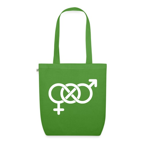 Bisexsymbol - Ekologisk tygväska