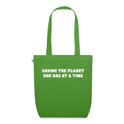 Saving the planet - EarthPositive Tote Bag