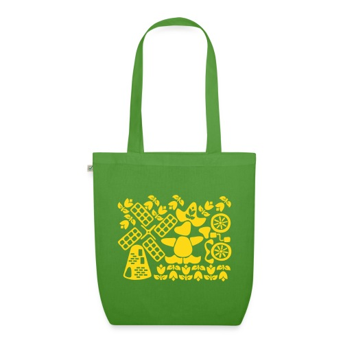 Shopping in Holland - EarthPositive Tote Bag
