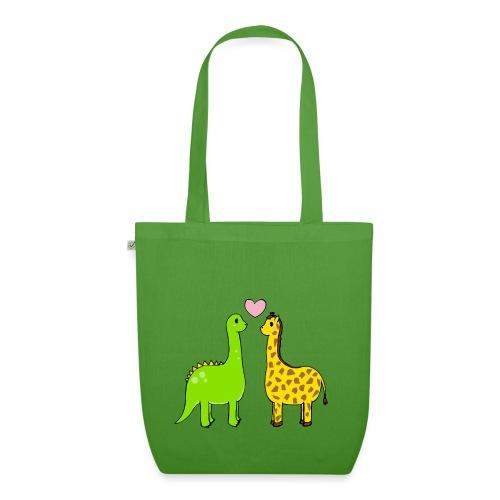 Dino Giraffe True - Ekologisk tygväska