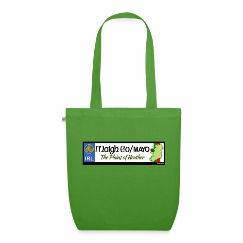 CO. MAYO, IRELAND: licence plate tag style decal - EarthPositive Tote Bag