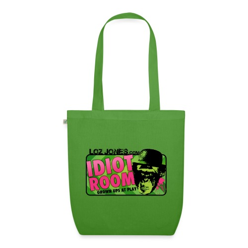 'Idiot Room' Chimp design - EarthPositive Tote Bag