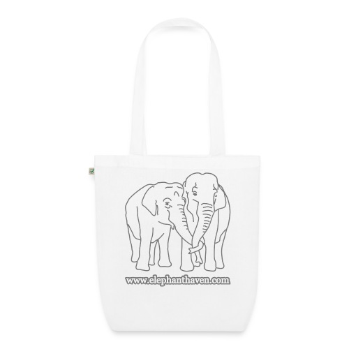 Elephants - EarthPositive Tote Bag