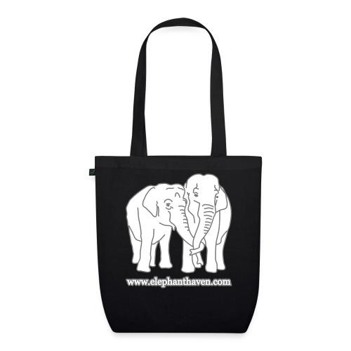 Elephants - EarthPositive Tote Bag