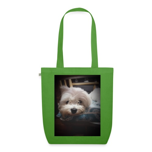 Pure White Pup - EarthPositive Tote Bag