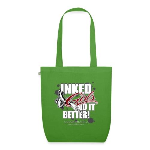 inked girls do it better - Bio-Stoffbeutel