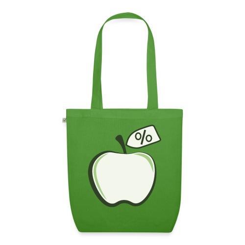 Sund på budget logo til mørke produkter - Øko-stoftaske