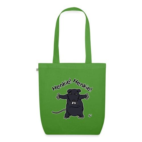 Henkie! Henkie! (the plush rat) - Borsa ecologica in tessuto